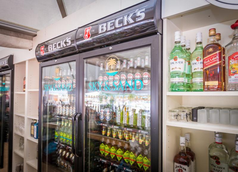 SKY & SAND BEACHCLUB 2015 - 16 - Beachbar Kühlschränke